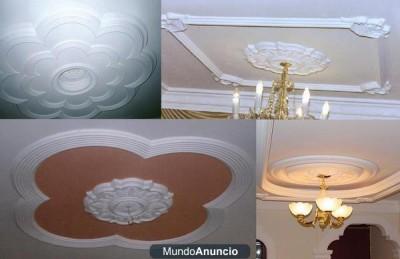 Decoraciones En Yeso Cornisas Florones Escayolas Columnas Nichos